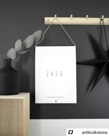 OUTLET, OHTO Nordic Home - 'PALUU JUURILLE' calendar 2020