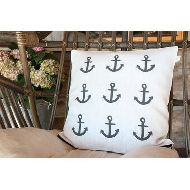 TEIJA HELIN DESIGN HOLDFAST linen pillowcase
