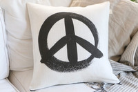 TEIJA HELIN DESIGN Peace -cover white