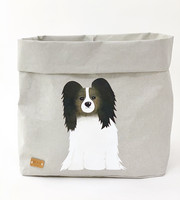 Dog storage basket, grey L-size, ENJOY YOUR LIFE BY DEMI