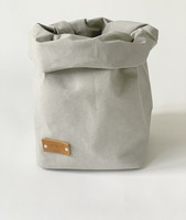 Bunny storage basket, grey S-size, ENJOY YOUR LIFE BY DEMI