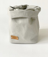 Bunny storage basket, grey size 15x15cm, ENJOY YOUR LIFE BY DEMI
