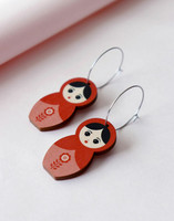 RAE FACTORY Matryoshka Earrings (S)