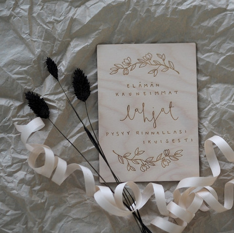 PUINE Gifts of life card A6