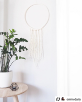 OUTLET OHTO Nordic Home -Dreamcatcher white 40cm