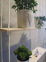 VUONO hanging shelf with 2 stand