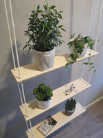VUONO Design hanging shelf with 3 stand