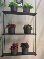 VUONO hanging plant shelf with 3 stand