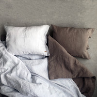 AINA flax pillowcase