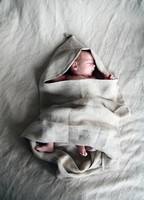 VERA-VERA Veräjä children´s linen hooded towel