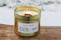 NENNU DESIGN Soy wax candle, gold