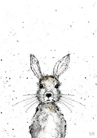 Poster A4, Bunny