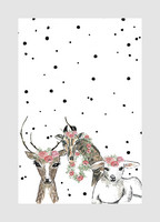 2xILO Postcard A6 Animals