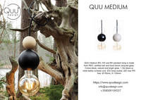 QUU DESIGN, QUU Lamp, Medium WN