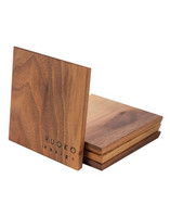 RUOKO design Coasters 4 pcs, walnut