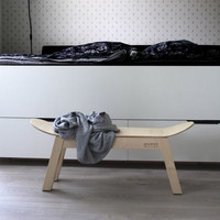 RUOKO design SK8 bench, birch