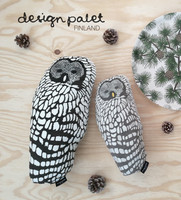 design palet OWL -pillow 30cm, nature