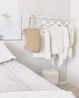 OUTLET OHTO Nordic Home -KAISLA wooden rack 100cm
