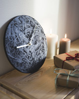 OHTO Nordic Home -LASTU Wall Clock, black/gold