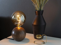 QUU DESIGN, QUU Tablelamp , walnut