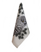 design palet OWL -Tea Towel