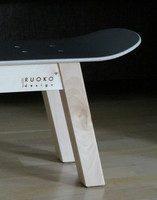 RUOKO design SK8 bench, black