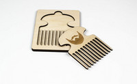 OLEN LOISTAVA Wooden beard comb, simple beard