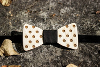 OLEN LOISTAVA Wooden bow + cufflinks, ball