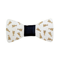 OLEN LOISTAVA Wooden bow + cufflinks, duck