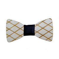 OLEN LOISTAVA Wooden bow + cufflinks, square