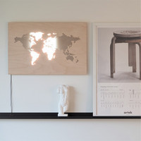 PUINE World wall lamp