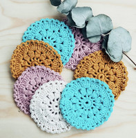 Picla Design Crochet coaster, pack of 2 pcs