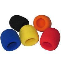 Käsimikrofonin tuulisuoja, eri värejä