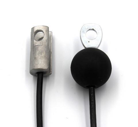 S3 - sylinteripääte läpihahlolla + silmukkapääte / pallo