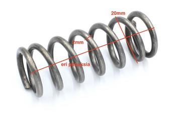 Puristusjousi 2mm x 20mm eri pituuksia