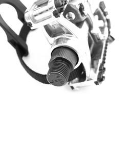 Spinning-pyörän polkimet, poljinlukoilla