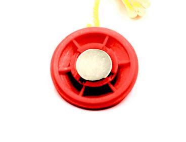 Juoksumaton hätäpysäytysavain magneetilla, eri kokoja
