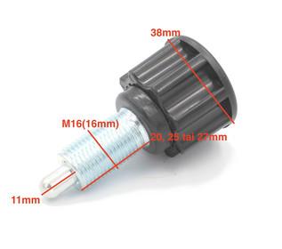 Pop pin säätöruuvi M16 x eri pituuksia