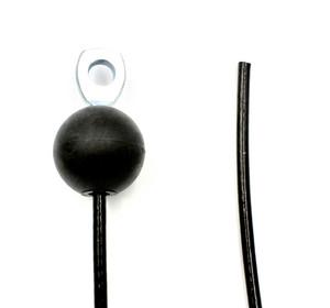 B3 - silmukkapääte / pallo - vapaa pää -