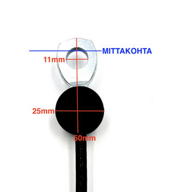 B4 - silmukkapääte / pieni pallo - silmukkapääte / pallo -
