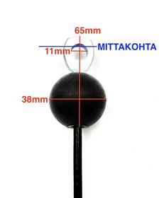 F3 - pallopääte - silmukkapääte / pallo -