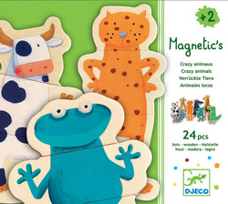 Djeco, Crazy animals magneetit