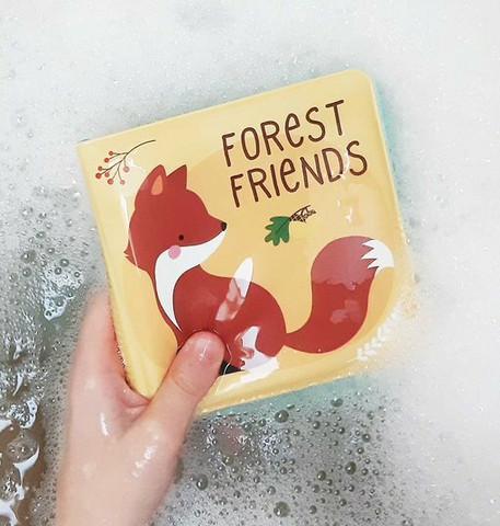 Vauvan kylpykirja - Forest friends, A Little Lovely Company