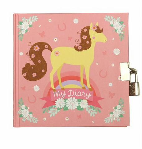 Päiväkirja Horse - A Little Lovely Company