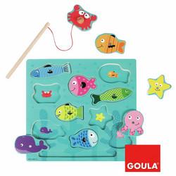 Magneettipalapeli kalastus, Goula