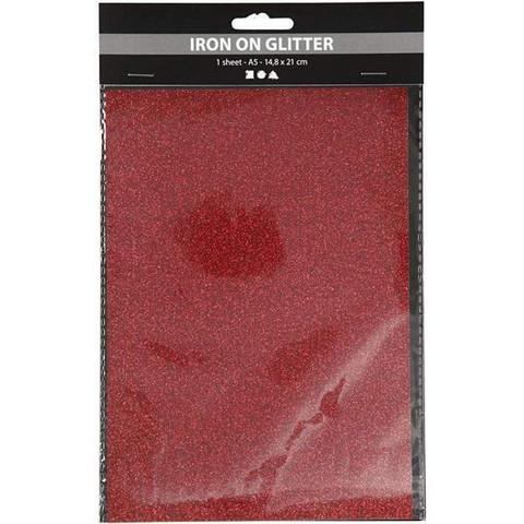 Silityskalvo, 148x210mm, kimalle punainen
