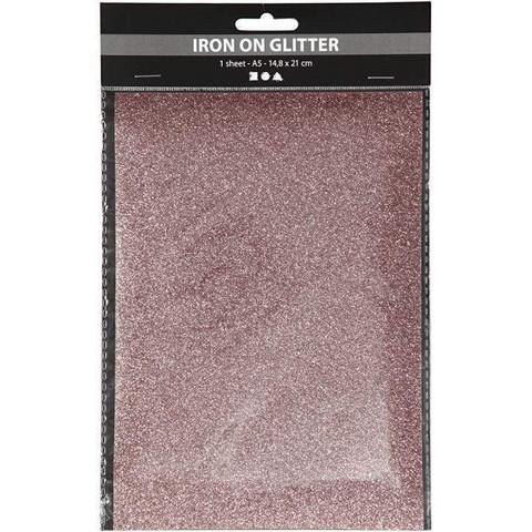 Silityskalvo, 148x210mm, kimalle vaaleanpunainen
