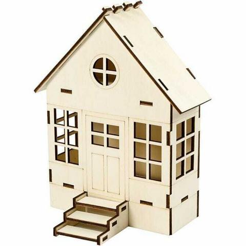 Rakennettava talo