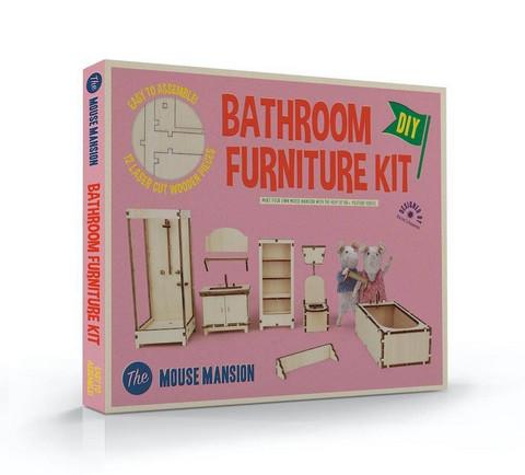 Mouse Mansion, Kylpyhuoneen kalusteet -setti, Het Muizenhuis