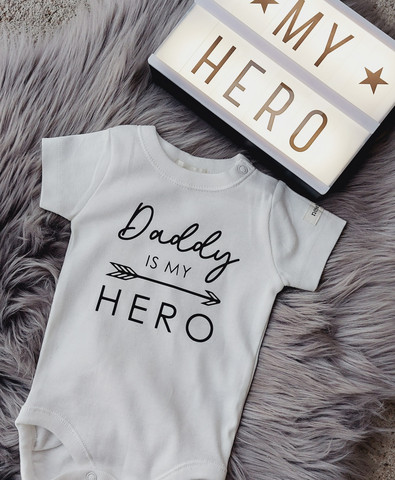 Daddy is my hero -silityskuva